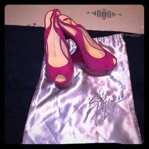 Giuseppe zanotti design pink Shoe